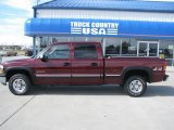 Dark Carmine Red Metallic Chevrolet Silverado 1500 in 2001