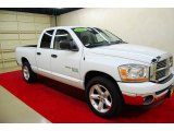 2006 Bright White Dodge Ram 1500 SLT Quad Cab #36480006