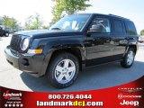 2010 Jeep Patriot Brilliant Black Crystal Pearl