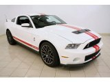 2011 Performance White Ford Mustang Shelby GT500 SVT Performance Package Coupe #36480565