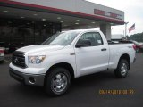 2011 Super White Toyota Tundra TRD Regular Cab 4x4 #36480296