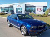 2006 Vista Blue Metallic Ford Mustang V6 Deluxe Coupe #36480618