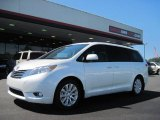 2011 Super White Toyota Sienna Limited #36480301