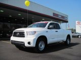 2010 Super White Toyota Tundra SR5 Double Cab #36480311