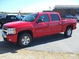 2010 Victory Red Chevrolet Silverado 1500 LT Crew Cab 4x4 #36480641