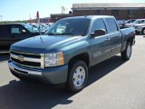 2010 Blue Granite Metallic Chevrolet Silverado 1500 LT Crew Cab #36480642