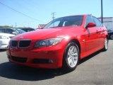 2006 Imola Red BMW 3 Series 325xi Sedan #36479800