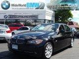 2007 Jet Black BMW 3 Series 335xi Sedan #36479858