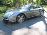 2008 Meteor Grey Metallic Porsche 911 Turbo Cabriolet #36479871