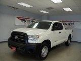 2010 Super White Toyota Tundra Double Cab #36480744