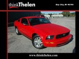 2007 Torch Red Ford Mustang V6 Premium Coupe #36480756