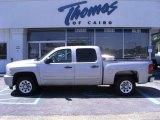 2008 Silver Birch Metallic Chevrolet Silverado 1500 LT Crew Cab #36480415