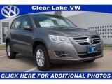 2011 Alpine Gray Metallic Volkswagen Tiguan SE #36480791