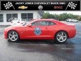 2010 Inferno Orange Metallic Chevrolet Camaro SS Coupe Indianapolis 500 Pace Car Special Edition #36480448