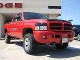 2001 Flame Red Dodge Ram 1500 ST Club Cab 4x4 #36480457