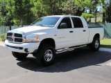 2006 Bright White Dodge Ram 1500 SLT Mega Cab 4x4 #36479953