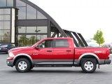 2009 Inferno Red Crystal Pearl Dodge Ram 1500 TRX4 Crew Cab 4x4 #36480468