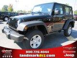 2011 Black Jeep Wrangler Sport 4x4 #36480023