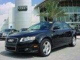 2008 Brilliant Black Audi A4 2.0T Special Edition Sedan #353901
