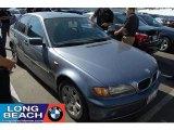 2002 Steel Blue Metallic BMW 3 Series 325i Sedan #36480164