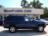 2002 Patriot Blue Pearlcoat Jeep Grand Cherokee Laredo 4x4 #36480228