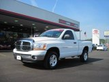 2006 Bright White Dodge Ram 1500 SLT Regular Cab 4x4 #36547751