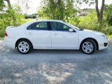 2011 White Platinum Tri-Coat Ford Fusion SE #36547481