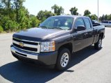 2010 Taupe Gray Metallic Chevrolet Silverado 1500 LS Extended Cab #36548092