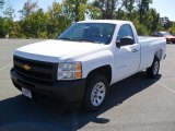 2011 Summit White Chevrolet Silverado 1500 Regular Cab #36548099