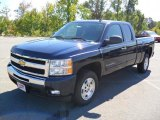 2011 Imperial Blue Metallic Chevrolet Silverado 1500 LT Extended Cab #36548100