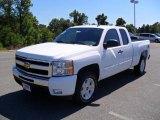 2011 Summit White Chevrolet Silverado 1500 LT Extended Cab 4x4 #36548110