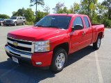 2011 Victory Red Chevrolet Silverado 1500 LT Extended Cab #36548111