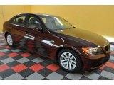2007 Barrique Red Metallic BMW 3 Series 328xi Sedan #36547860