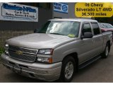 2006 Silver Birch Metallic Chevrolet Silverado 1500 LT Crew Cab #36547588