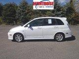 2005 Suzuki Aerio White Pearl
