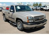 2005 Silver Birch Metallic Chevrolet Silverado 1500 LS Regular Cab #36547634