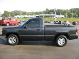2004 Black Chevrolet Silverado 1500 LS Regular Cab #36547375