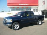 2007 Patriot Blue Pearl Dodge Ram 1500 Big Horn Edition Quad Cab 4x4 #36547427