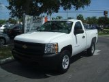 2011 Summit White Chevrolet Silverado 1500 Regular Cab 4x4 #36547451