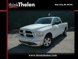 2010 Stone White Dodge Ram 1500 SLT Quad Cab 4x4 #36548283
