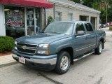 2006 Blue Granite Metallic Chevrolet Silverado 1500 Z71 Crew Cab 4x4 #36622650