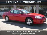 2006 Victory Red Chevrolet Monte Carlo LS #36622285