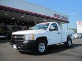 2009 Summit White Chevrolet Silverado 1500 Regular Cab 4x4 #36622660