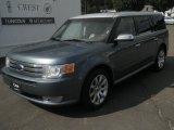 2010 Steel Blue Metallic Ford Flex Limited AWD #36621878