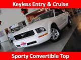 2007 Performance White Ford Mustang V6 Deluxe Convertible #36622317