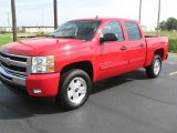 2011 Victory Red Chevrolet Silverado 1500 LT Crew Cab 4x4 #36622735