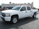 2011 Summit White Chevrolet Silverado 1500 LT Crew Cab 4x4 #36622736
