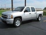 2011 Sheer Silver Metallic Chevrolet Silverado 1500 LT Crew Cab 4x4 #36622737