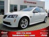 2009 White Hot Pontiac G8 Sedan #36622348