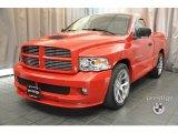 2005 Flame Red Dodge Ram 1500 SRT-10 Regular Cab #36621959